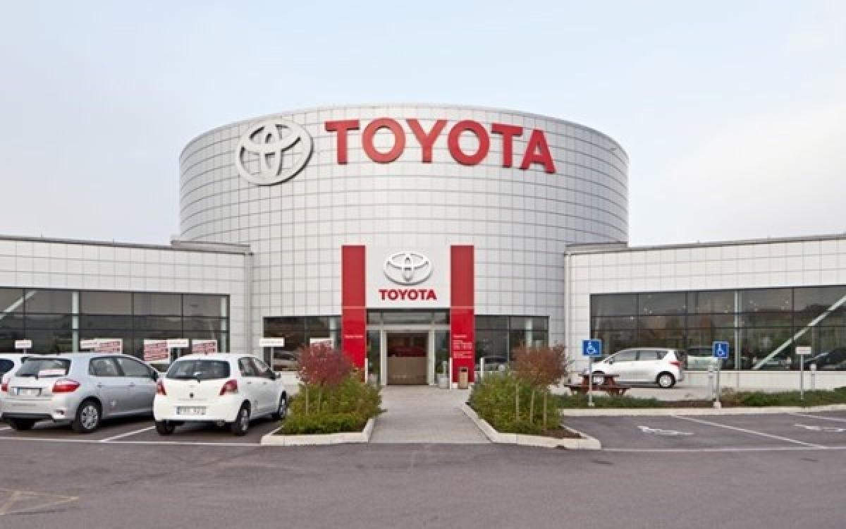 Nhà máy Toyota.