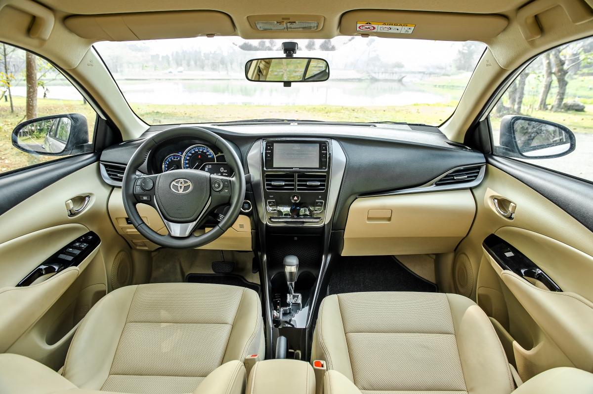 Không gian nội thất xe không có quá nhiều thay đổi so với phiên bản cũ.