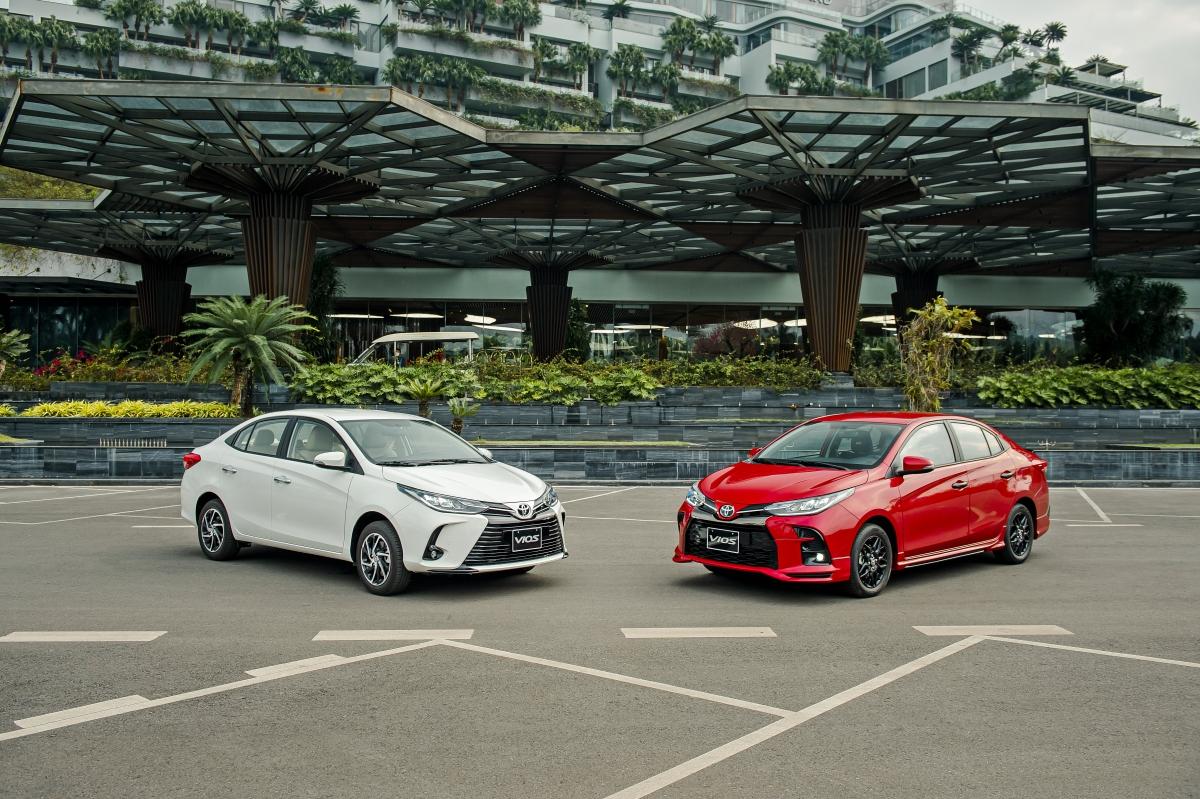 So với thế hệ cũ, Toyota Vios 2021 được thay đổi chủ yếu ở thiết kế đầu xe.