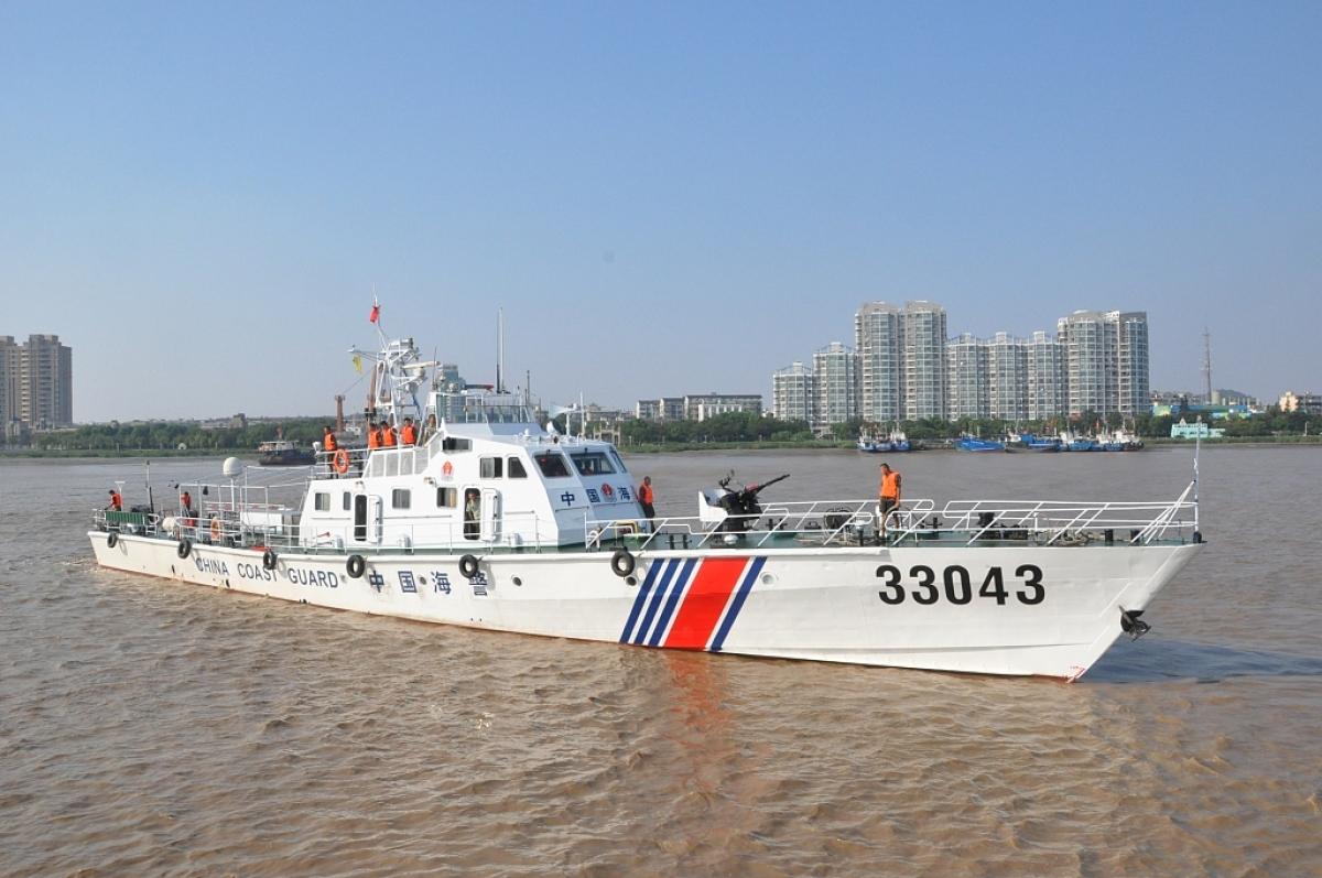 Tàu hải cảnh Trung Quốc. Ảnh: China Daily.