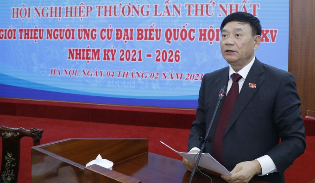 Ông Trần Văn Túy (Ảnh: Quang Vinh)