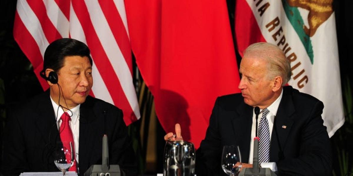 Ông Tập Cận Bình (trái) và ông Joe Biden. Ảnh: AFP.