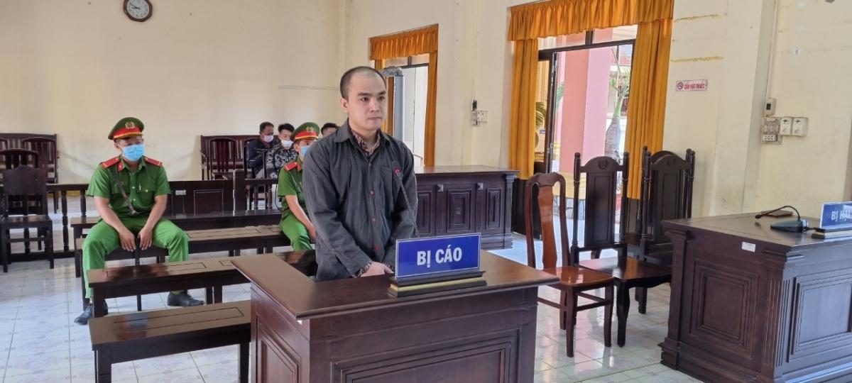 Bị cáo Nguyễn Tuấn Vũ tại tòa.