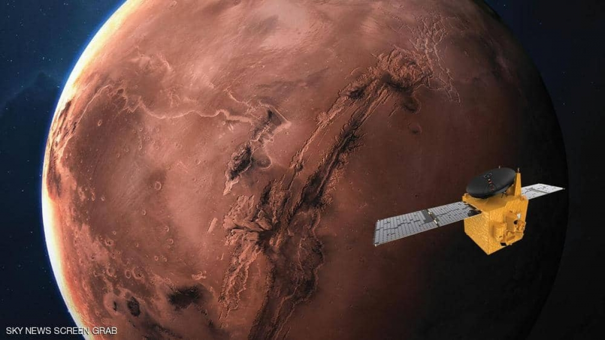 UAE sắp phóng tàu tham dò Sao Hỏa. Ảnh: Skynewsarabia.
