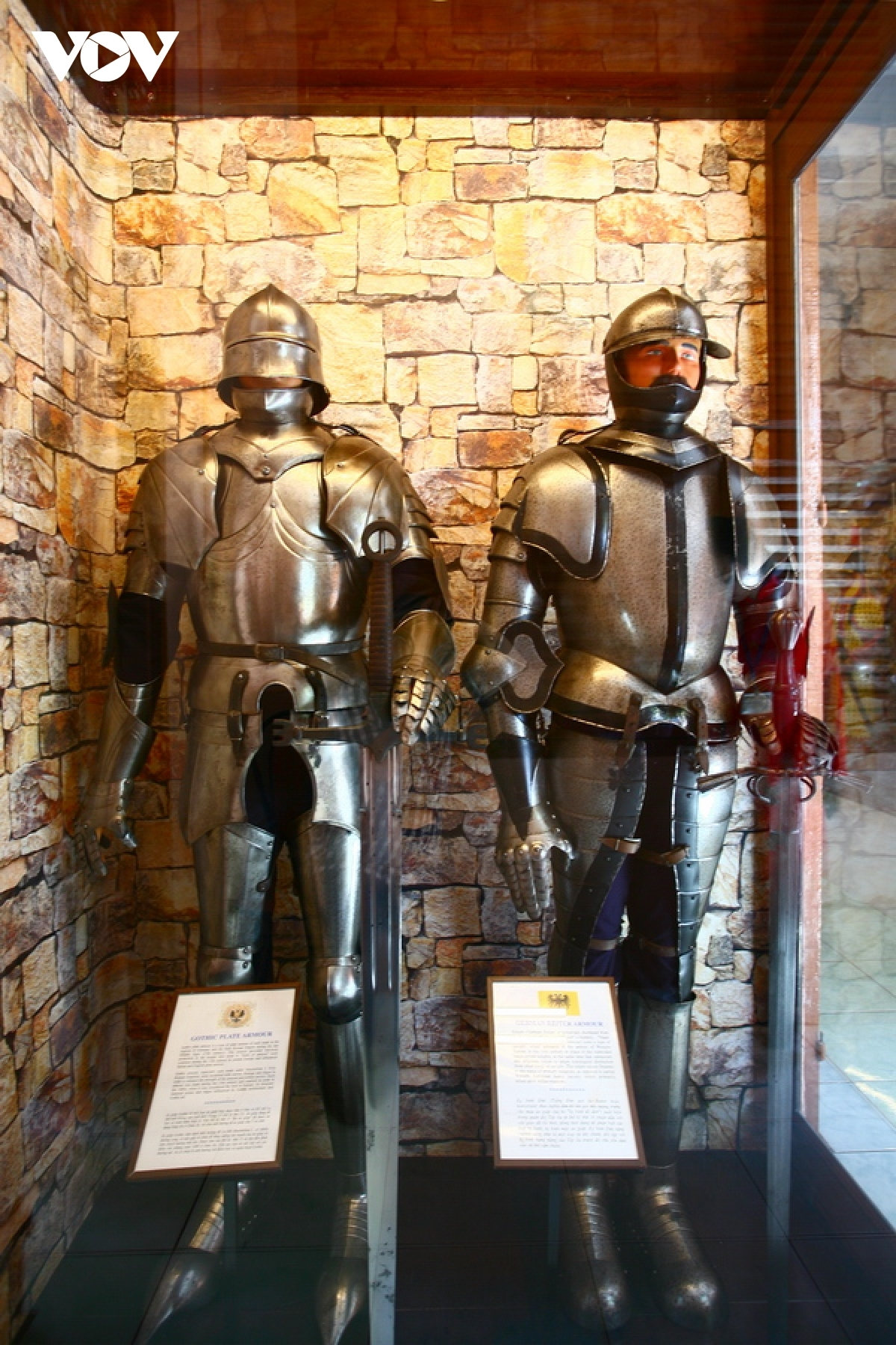 Wealthy soldiers during the medieval period in Europe wore armoured suits.