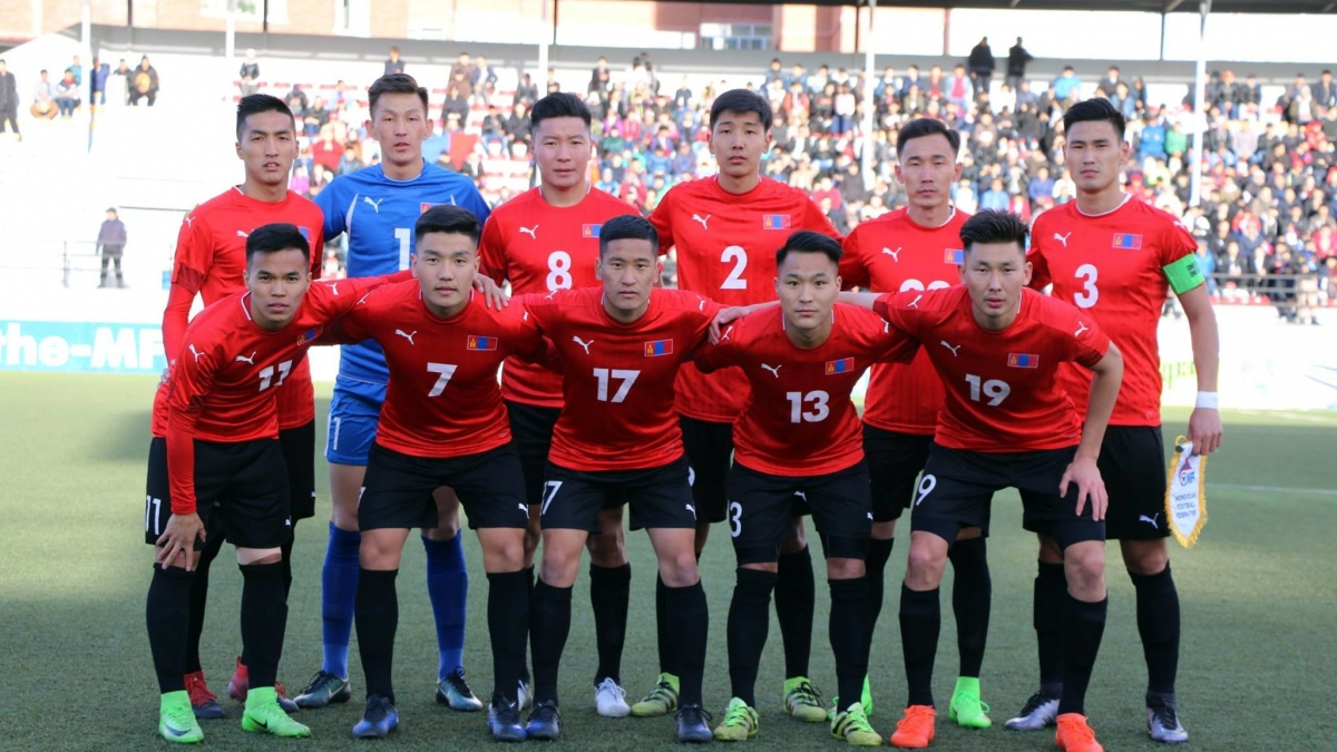 Mông Cổ là đội tuyển châu Á duy nhất đá đủ 2 trận vòng loại World Cup 2022 trong tháng 3. (Ảnh: FIFA).