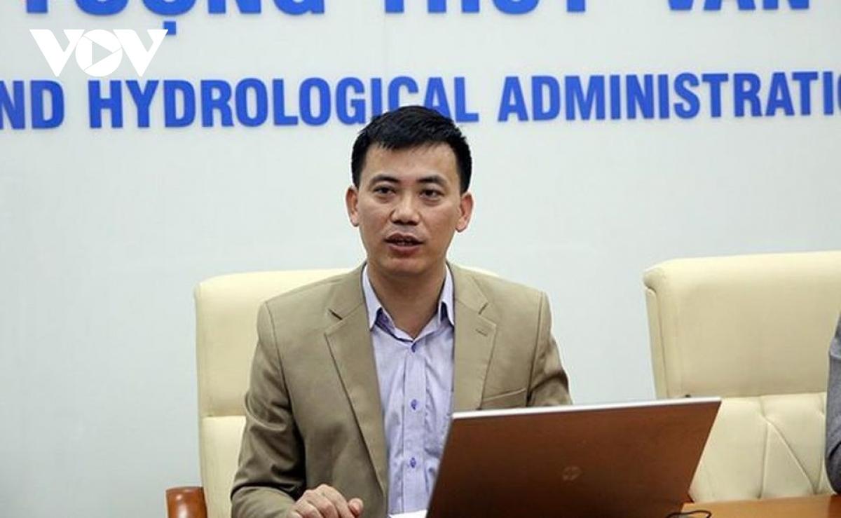 Ông Nguyễn Văn Hưởng, Trưởng phòng Dự báo Khí hậu (Trung tâm Dự báo Khí tượng Thủy văn Quốc gia).