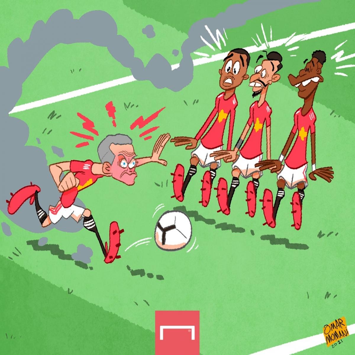 Biếm họa 24h: Sân Anfield thành kho điểm ở Ngoại hạng Anh - Ảnh 6.