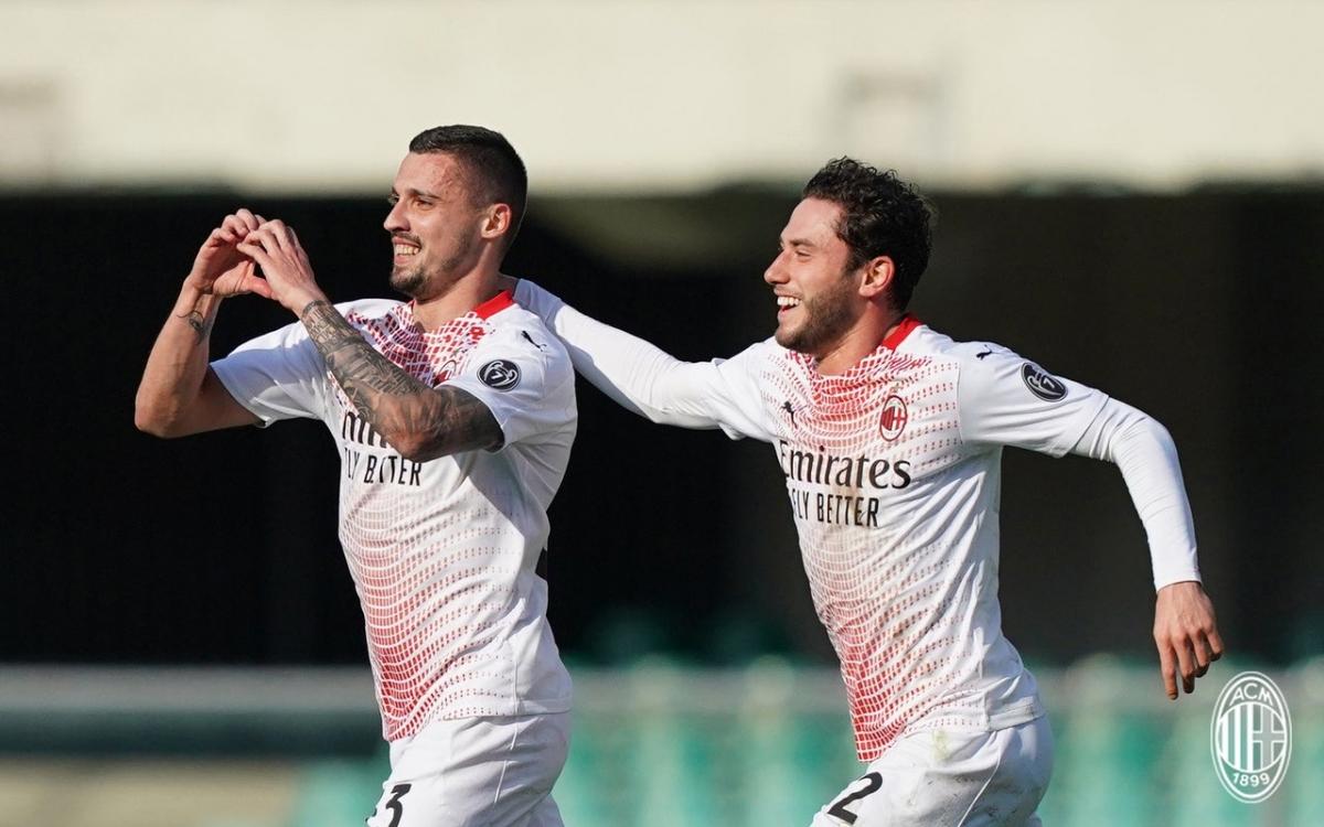 Thiếu vắng Zlatan Ibrahimovic vì chấn thương và cho một số trụ cột nghỉ ngơi dưỡng sức trước trận gặp MU, nhưng AC Milan vẫn thắng thuyết phục Verona.
