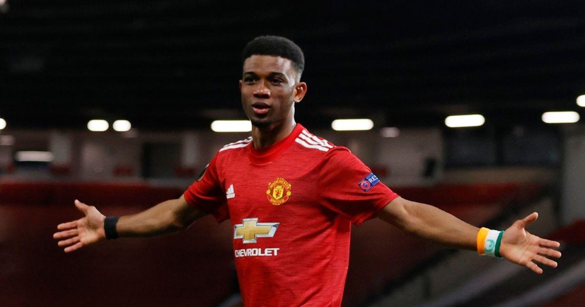 Sao trẻ Diallo ghi bàn ra mắt MU. (Ảnh: Getty).