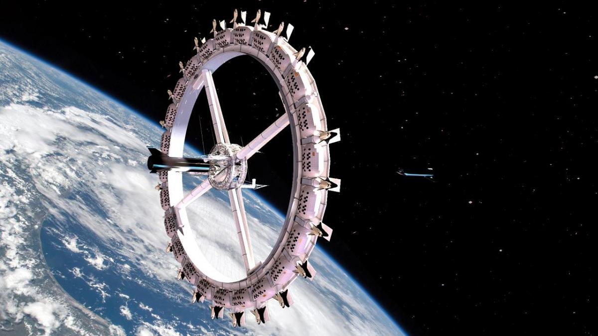 """Trạm """"Voyager"""" cung cấp dịch vụ lưu trú cho du khách và chuyên gia."""
