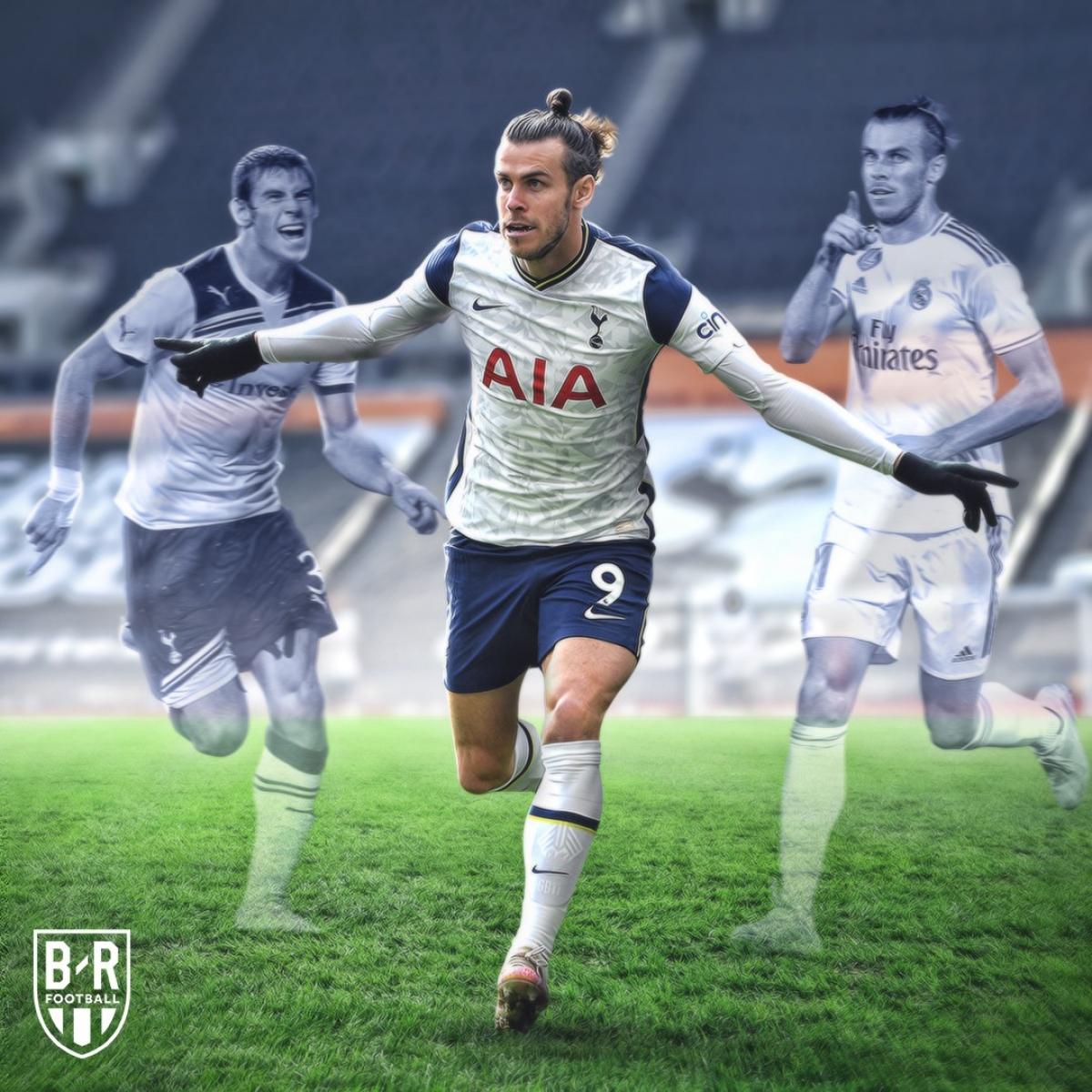 Cuối cùng Gareth Bale cũng tỏa sáng. (Ảnh: Bleacher Reports)