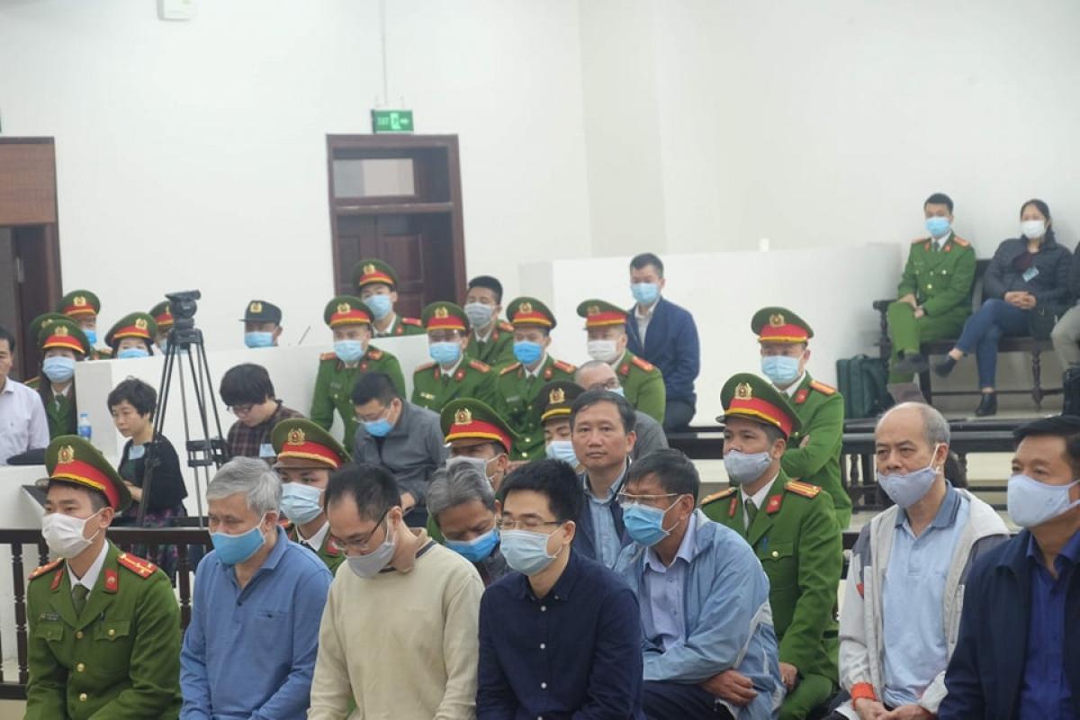 TAND TP Hà Nội tiếp tục phiên xét xử vụ Ethanol Phú Thọ. Ảnh: Tấn Anh.