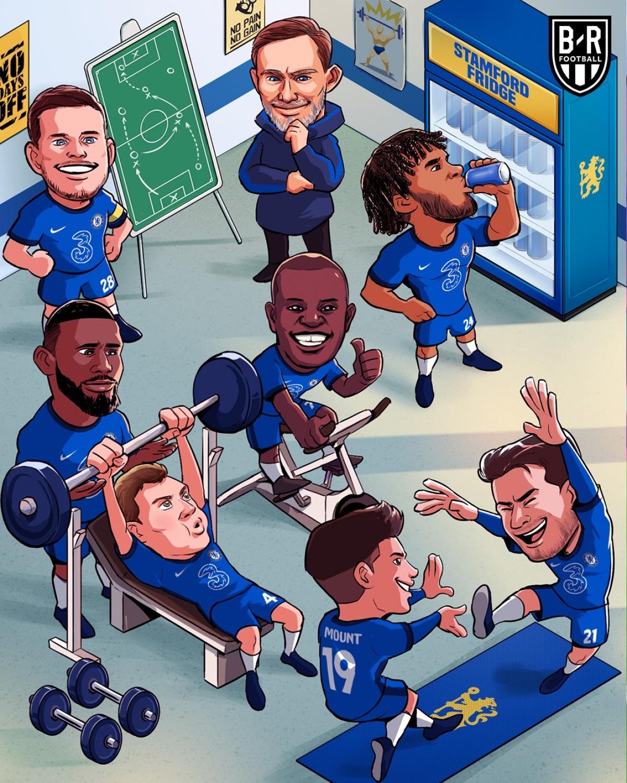 Chelsea hồi sinh dưới thời HLV Thomas Tuchel. (Ảnh: Bleacher Reports)