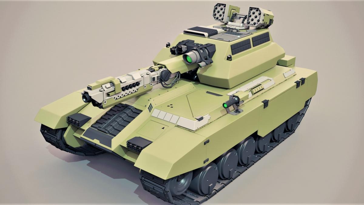 Thực tế cho thấy pháo không tháp pháo bộc lộ nhiều yếu điểm và bất cập; Nguồn: deviantart.com
