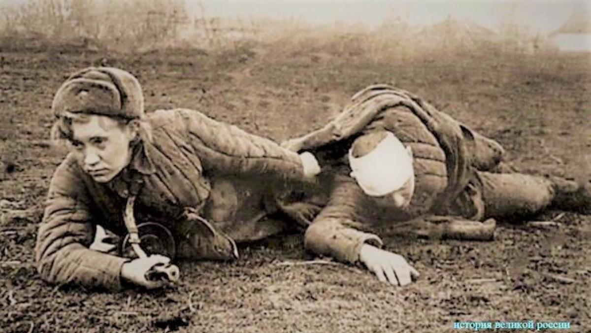 Các nữ chiến binh đã thực hiện nhiều nhiệm vụ khó khăn trong chiến tranh; Nguồn: historygreatrussia.ru