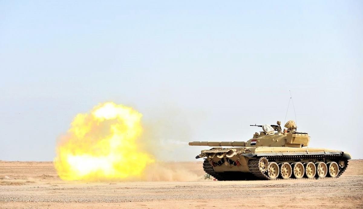 """T-72 - """"Sư tử Babylon"""" của Iraq đã không thể đọ với xe tăng Mỹ; Nguồn: wikipedia.org"""