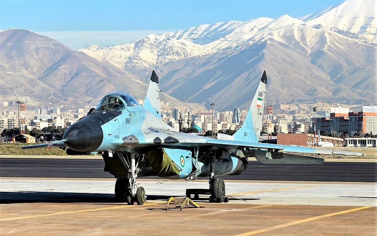 Chiếc MiG-29 của Không quân Iran; Nguồn: wikipedia.org