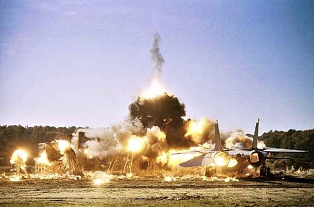 Một vụ thử nghiệm nổ vật liệu phản ứng của Mỹ. Nguồn: forbes.com