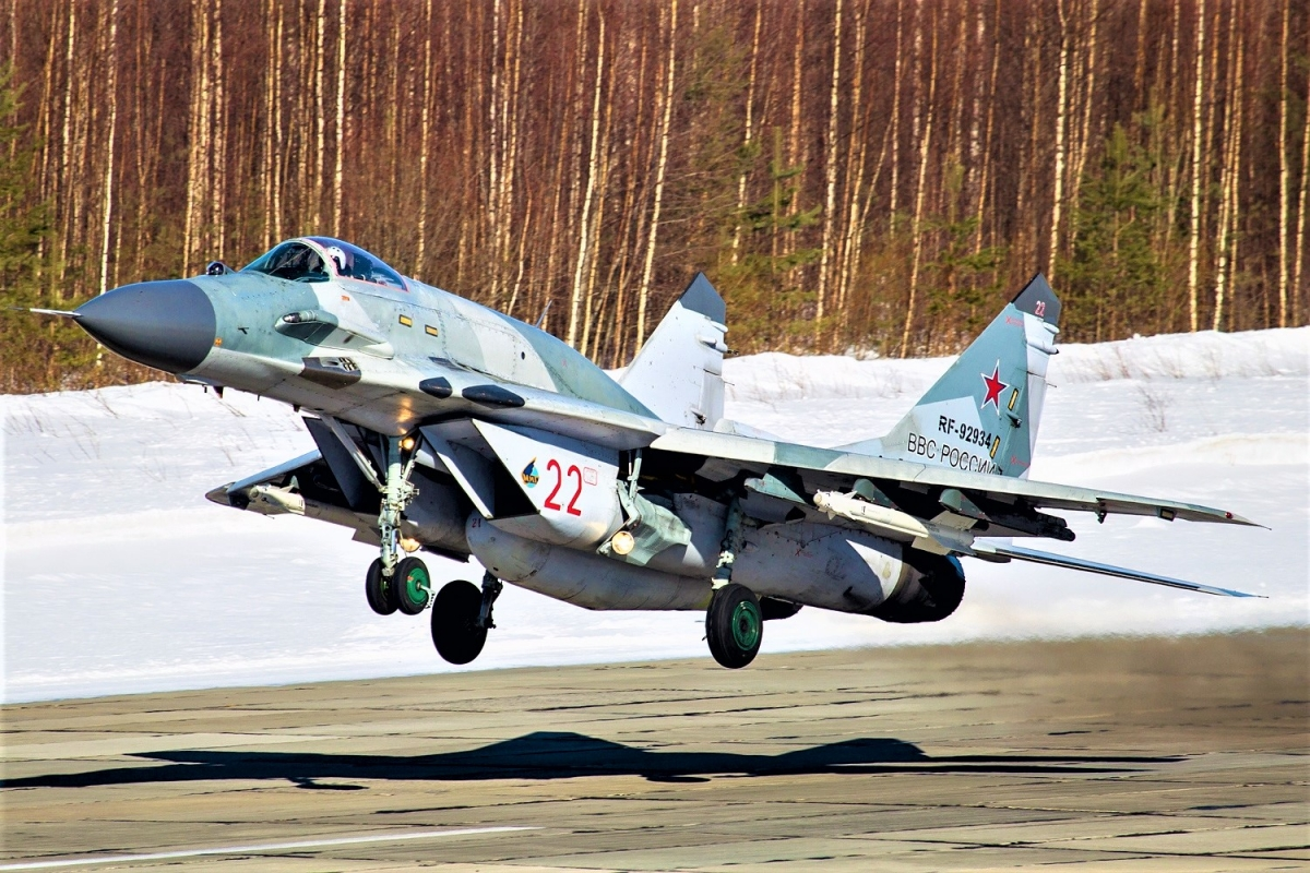 Chiếc MiG-29SMT của Không quân Nga; Nguồn: wikipedia.org