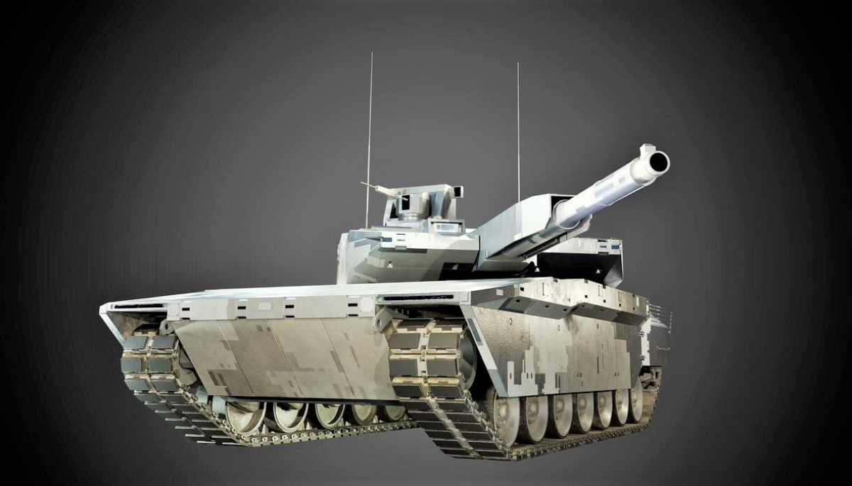 Các chuyên gia cho rằng, vấn đề tăng sức mạnh hỏa lực thông qua việc nâng cỡ nòng pháo chính không phải là giải pháp tối ưu; Nguồn: militaryleak.com