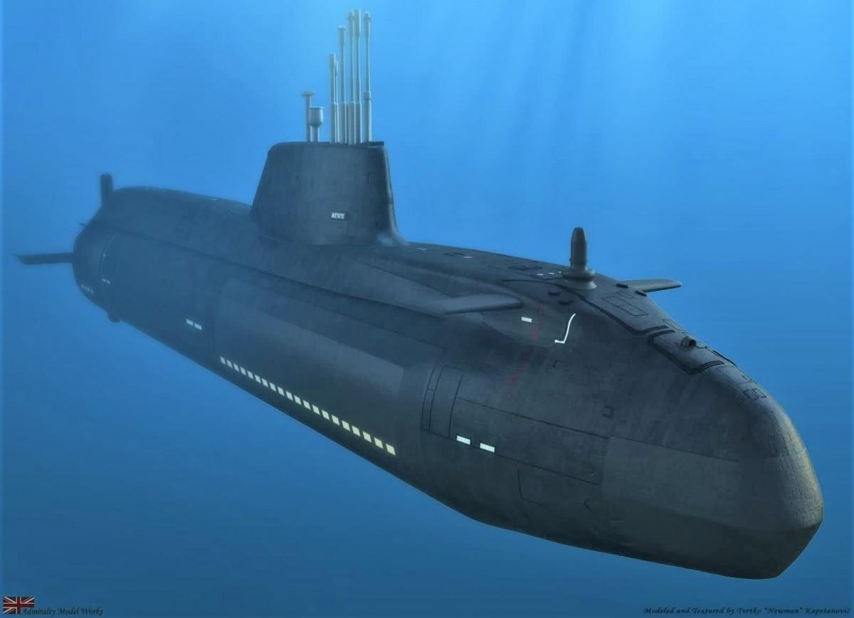 Tàu lớp Astute được trang bị nhiều thiết bị hiện đại, áp dụng các công nghệ tiên tiến và tích hợp vũ khí khủng; Nguồn: pinterest.co.uk