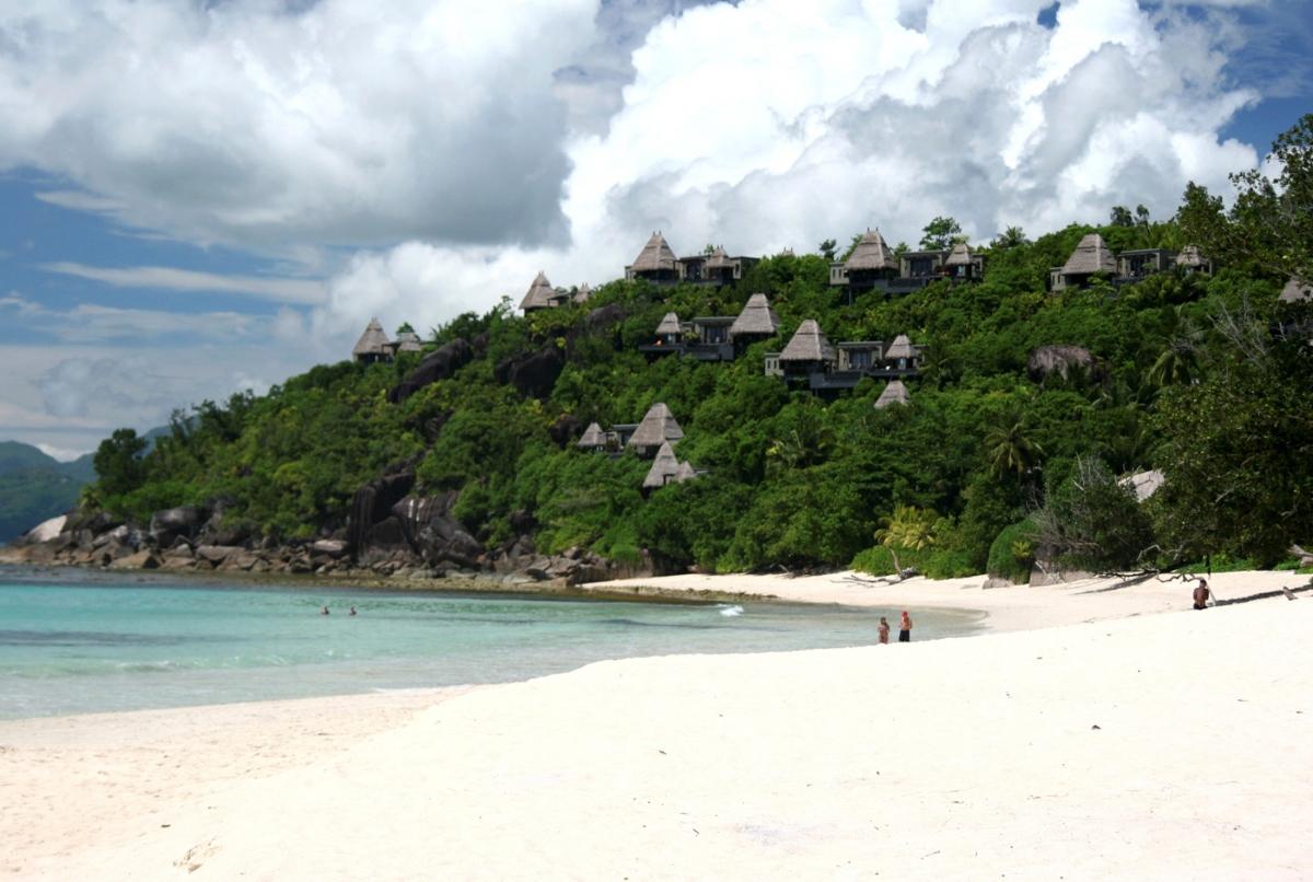 Bãi biển tại thủ đô Victoria, Seychelles. Nguồn: Reuters