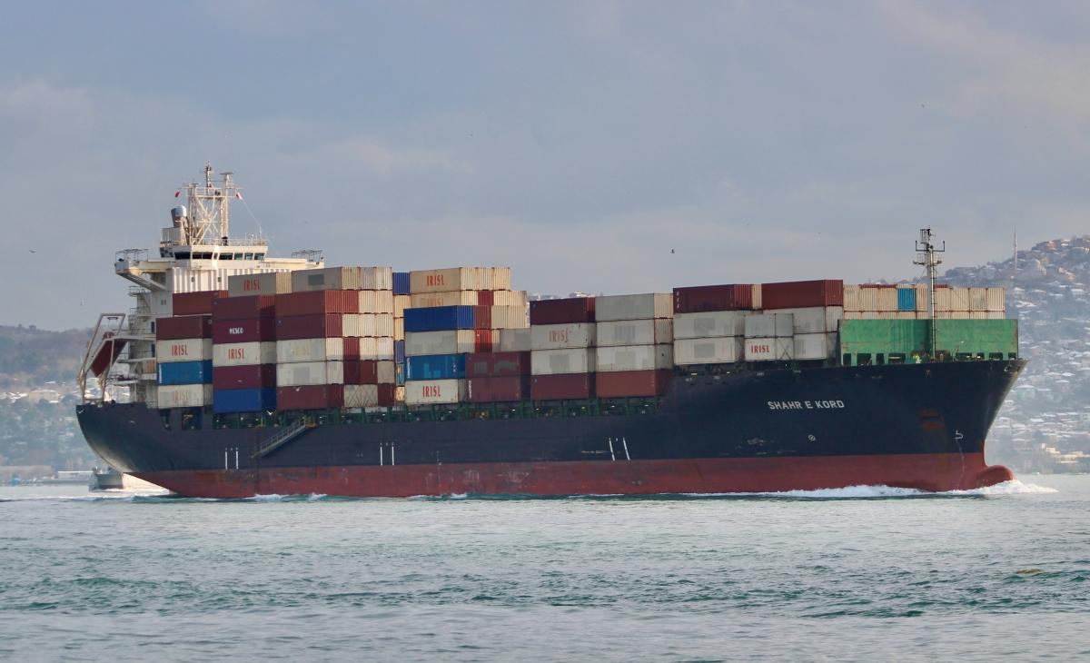 Tàu Shahr e Kord. Nguồn: Reuters