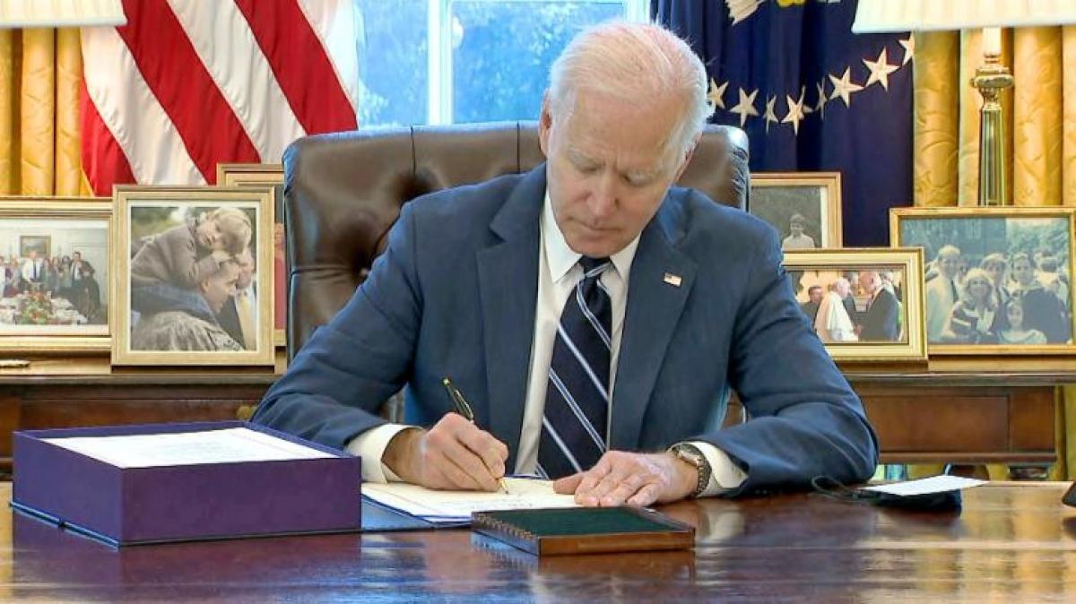 Tổng thống Mỹ Joe Biden. Ảnh: CNN.