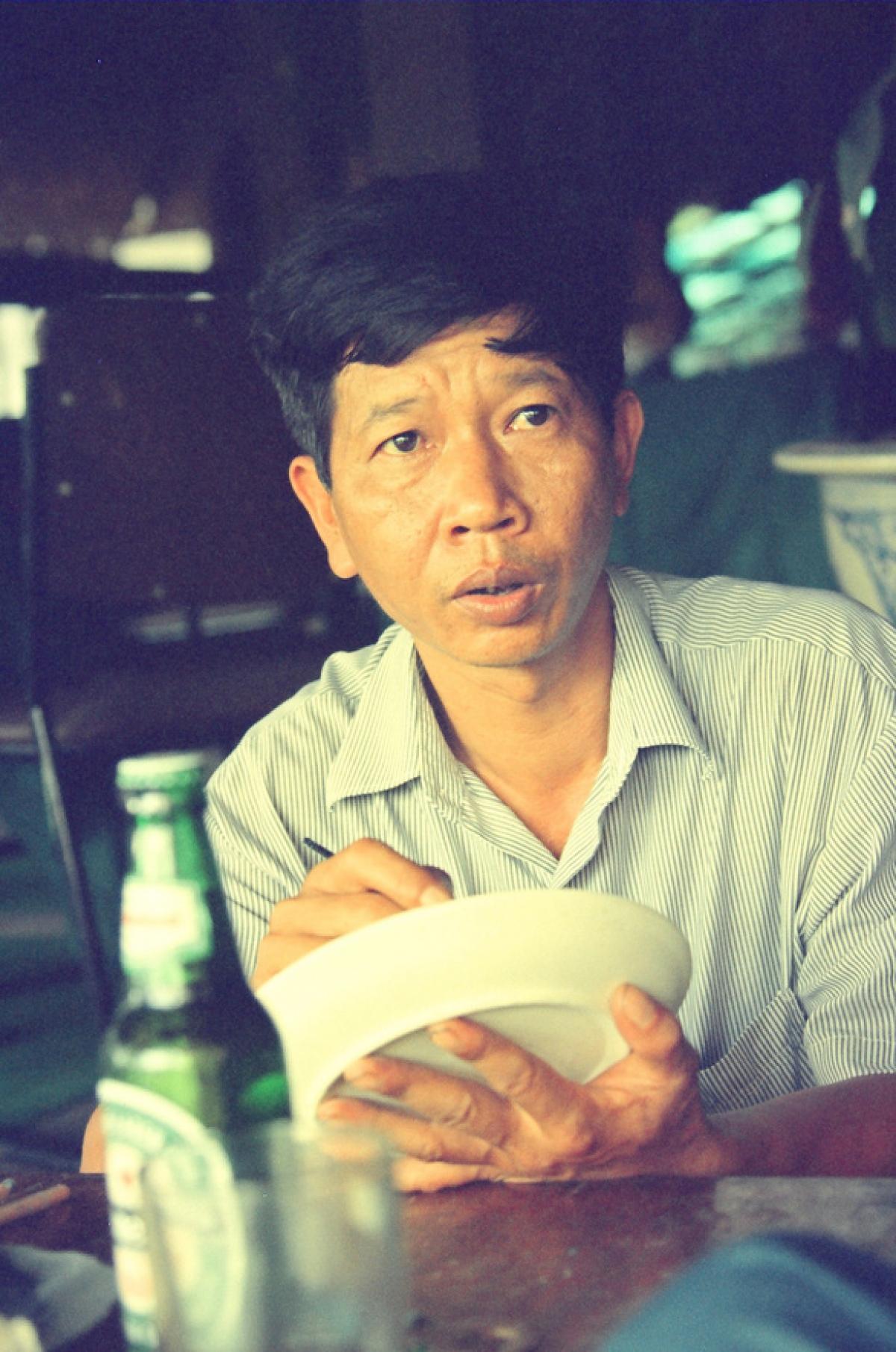 Nhà văn Nguyễn Huy Thiệp (Ảnh: Nguyễn Đình Toán).