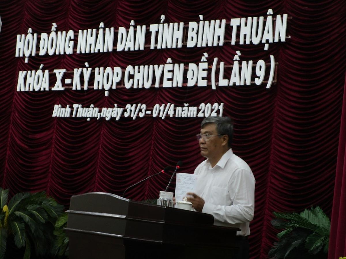 Ông Nguyễn Văn Phong- Tân Phó Chủ tịch UBND tỉnh Bình Thuận