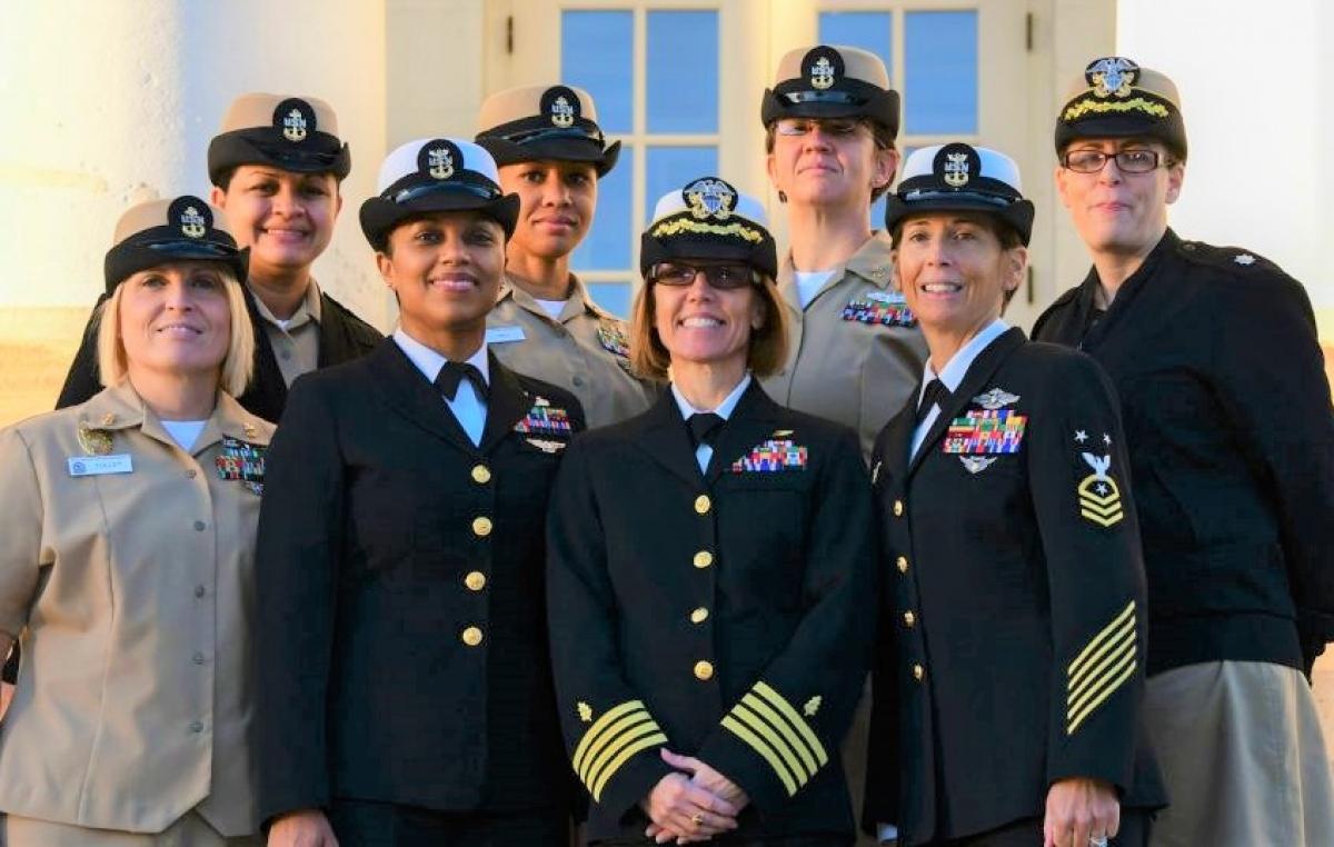 Trong các quân binh chủng Mỹ có nhiều nữ sĩ quan cao cấp; Nguồn: stripes.com
