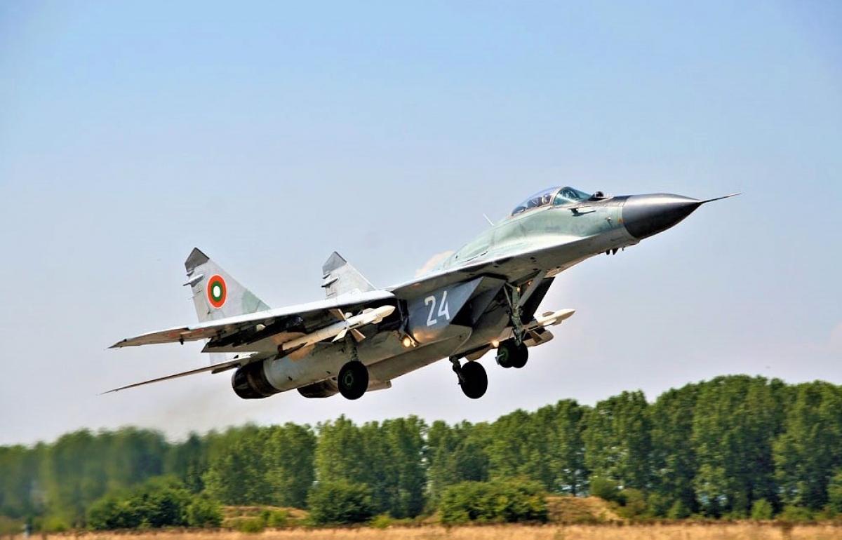 Chiếc MiG-29 của Không quân Bungaria; Nguồn: wikipedia.org
