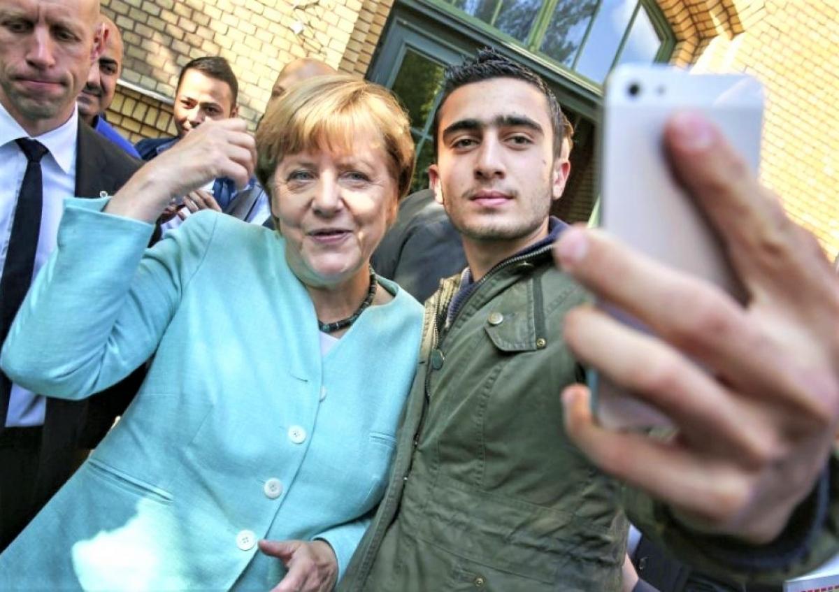 Chính sách di dân của nữ Thủ tướng Đức đang phát huy hiệu quả của nó; Nguồn: challenges.fr