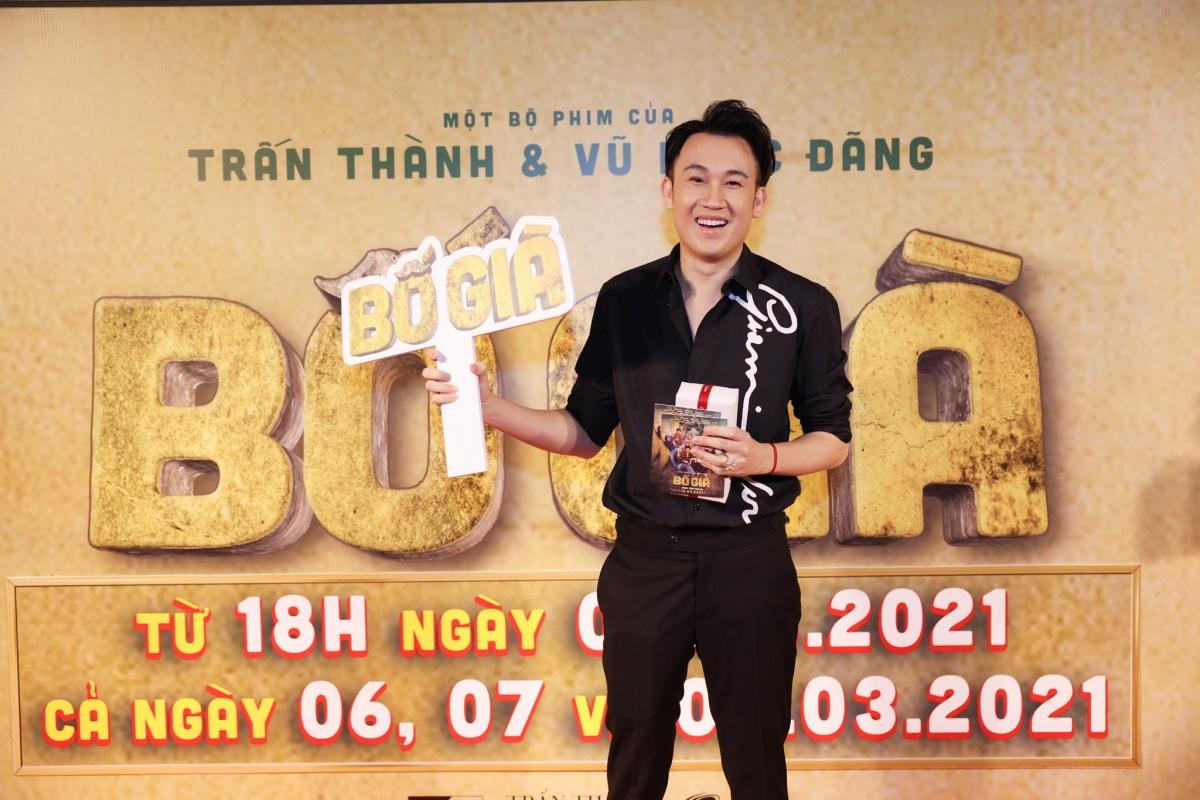 Dương Triệu Vũ đến ủng hộ người anh thân thiết.