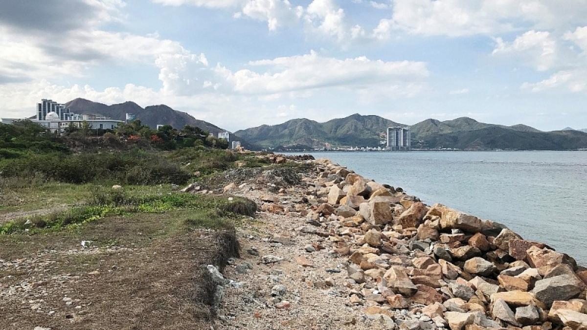 Khánh Hòa lên phương án thu hồi đất dự án lấn biển vịnh Nha Trang. (Ảnh: KT)