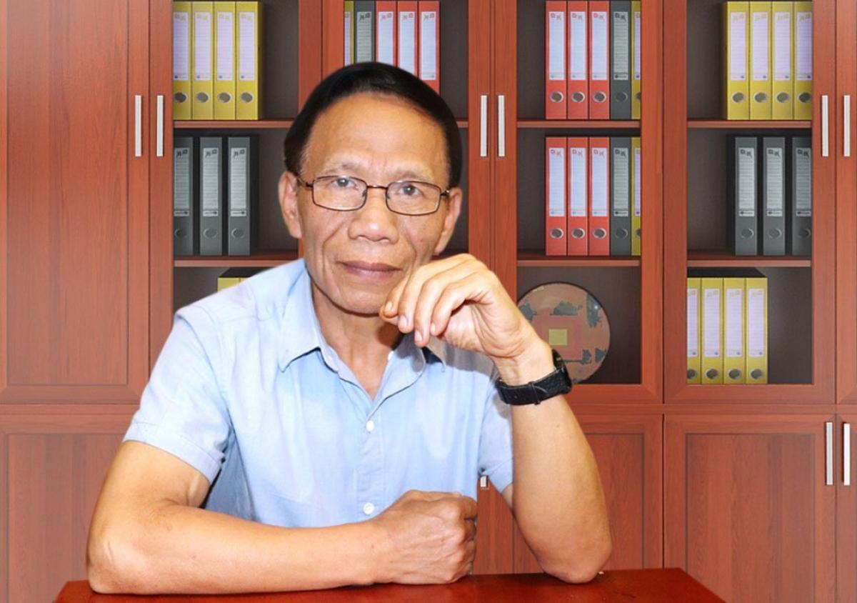 Chuyên gia nông nghiệp Hoàng Trọng Thủy (Ảnh: Lao động Thủ đô)