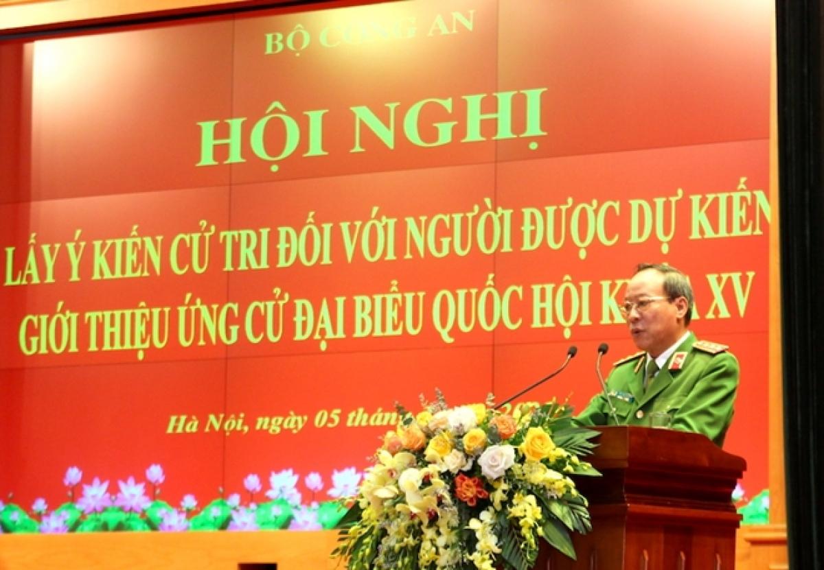 Thứ trưởng Lê Quý Vương chủ trì hội nghị.