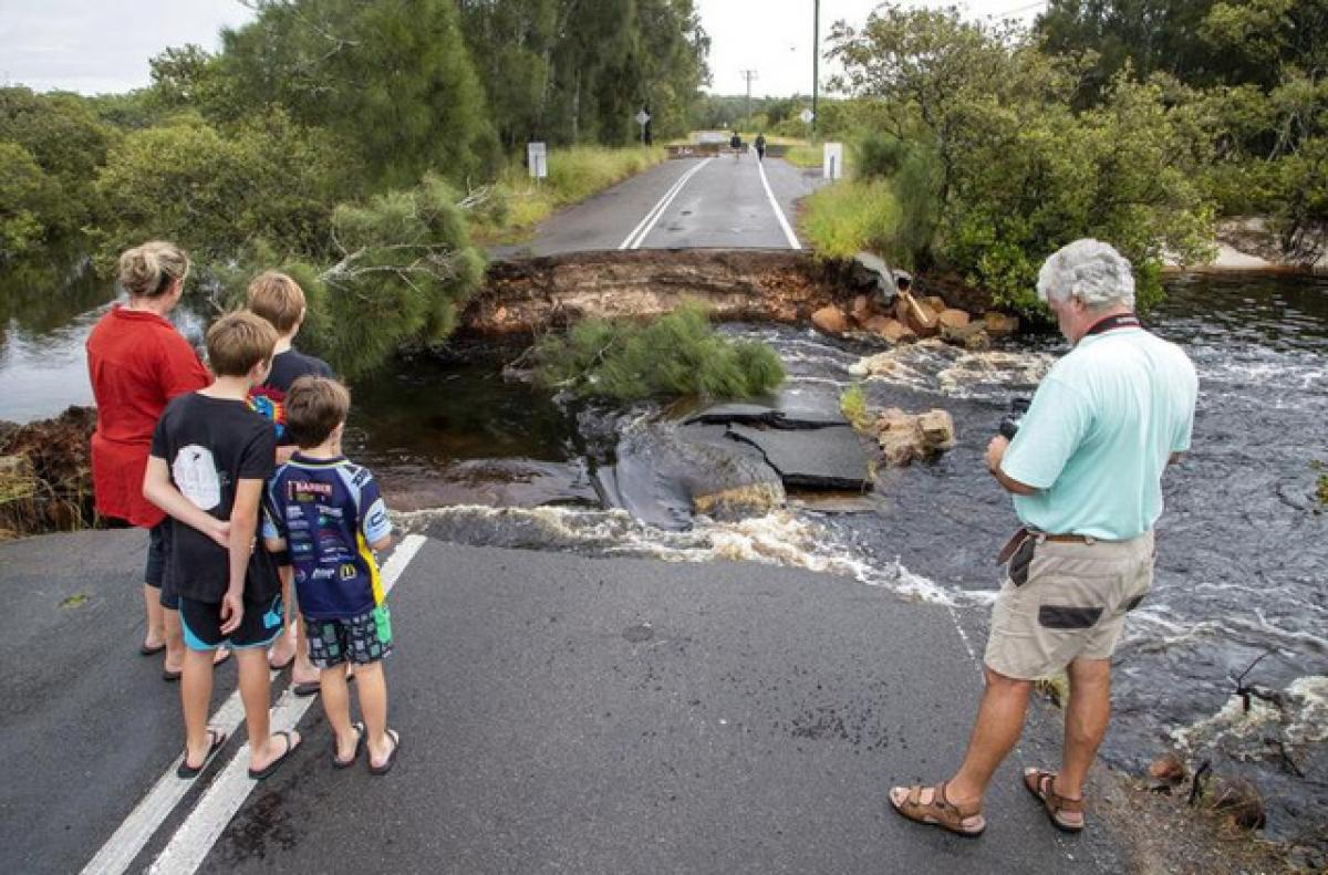 Lũ lụt vượt qua mức lũ kỷ lục được ghi nhận vào năm 2013. (Ảnh: AP)