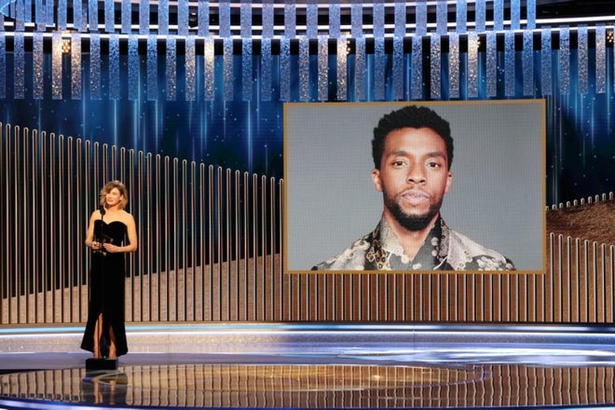"""""""Chiến binh báo đen"""" Chadwick Boseman giành Nam diễn viên chính xuất sắc thể loại phim chính kịch."""