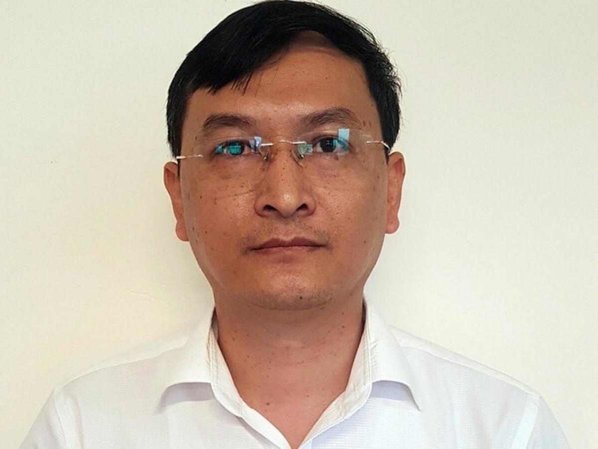 Bị can Lê Quang Hào, Phó tổng giám đốc VEC. Ảnh:Cơ quan điều tra cung cấp.