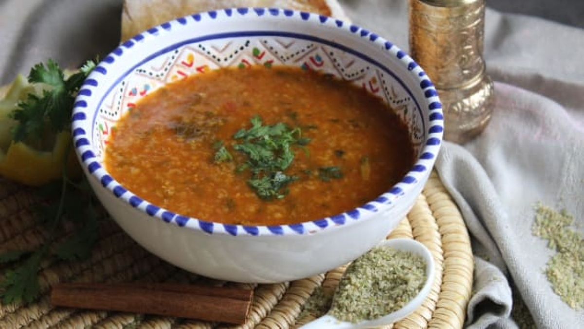 Chorba frik is a dish popular in the North African nations of Algeria, Libya, and Tunisia (Photo: Shutterstock)