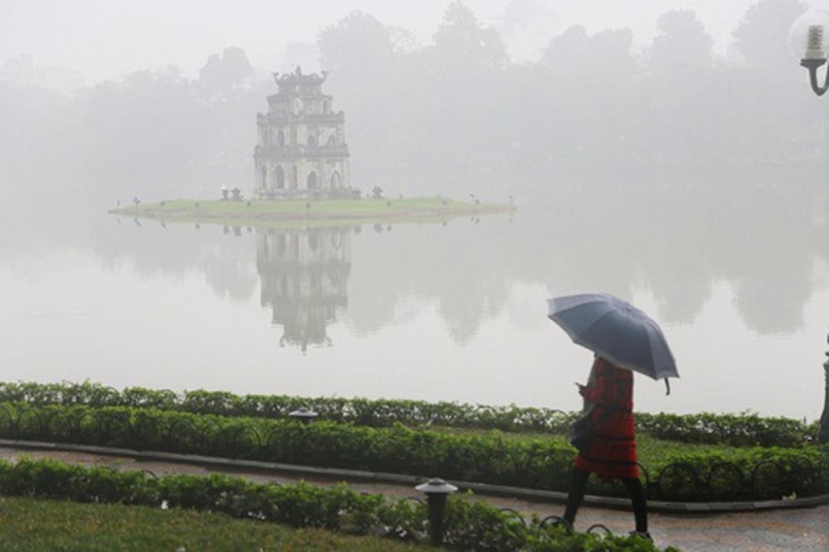 Sương mù, mưa phùn tiếp tục bao phủ các tỉnh miền Bắc, trời rét ẩm. (Ảnh minh họa)