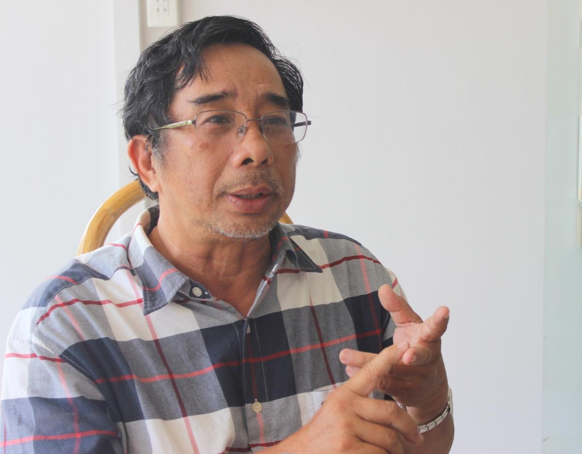 PGS – TS Lê Anh Tuấn, Phó viện Trưởng Viện nghiên cứu Biến đổi khí hậu Trường Đại học Cần Thơ.