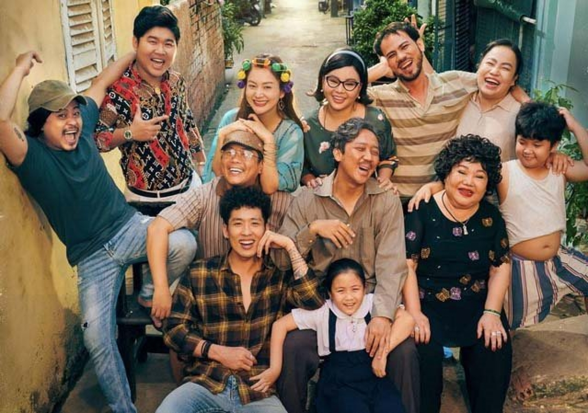 "The all-star cast of the family movie ""Old Father"" – Photo: Courtesy of producer"