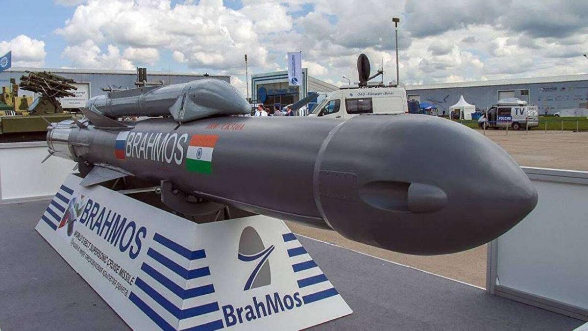 Tên lửa Brahmos. Ảnh: DNA India.