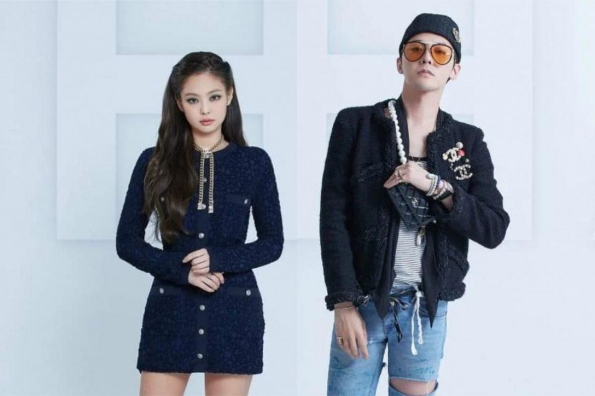 Jennie và G-Dragon đều là đại sứ thương hiệu Chanel. Nguồn: Chanel