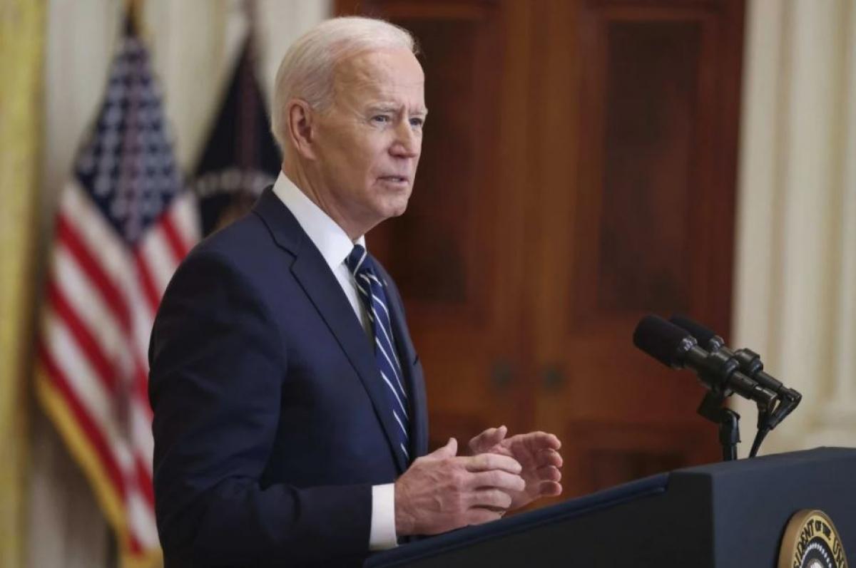 Tổng thống Mỹ Joe Biden. Ảnh: TNS