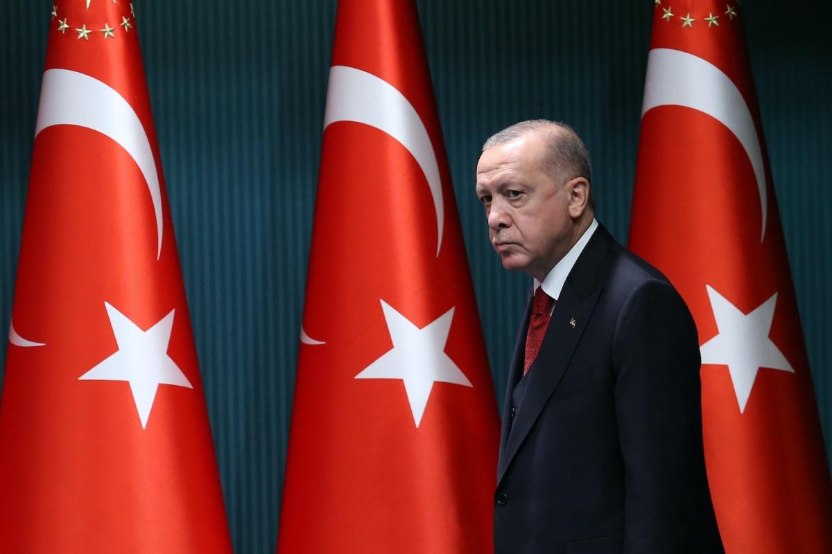 Tổng thống Thổ Nhĩ Kỳ Erdogan. Ảnh: Getty