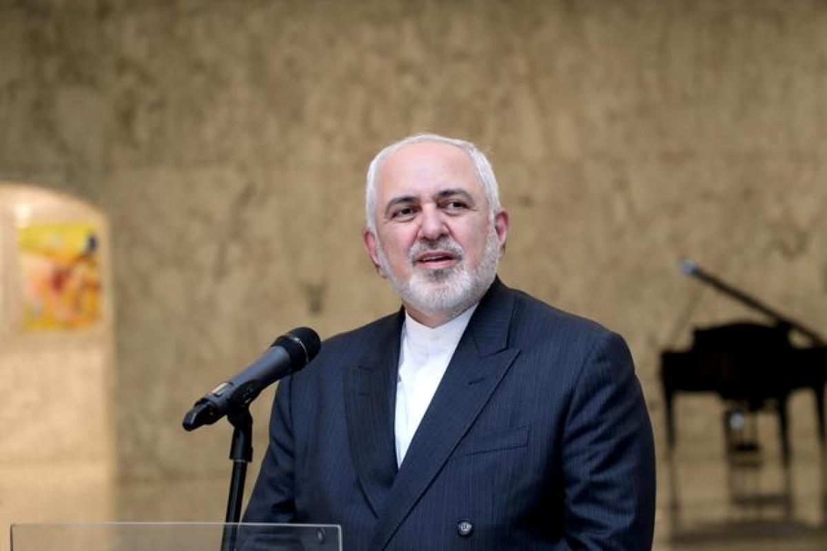Ngoại trưởng Iran Mohammad Javad Zarif. Ảnh: Reuters